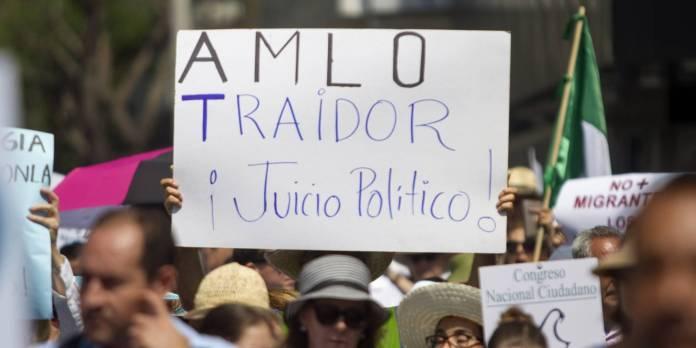 Marchan contra el gobierno de AMLO | Publimetro México