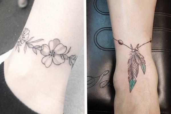 Tatuajes Como Pulseras Los Diseños Más Encantadores Que Te Harán