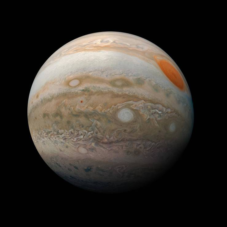 La NASA afirma que presencia de agua en la Atmósfera de Júpiter es mayor a la del Sol