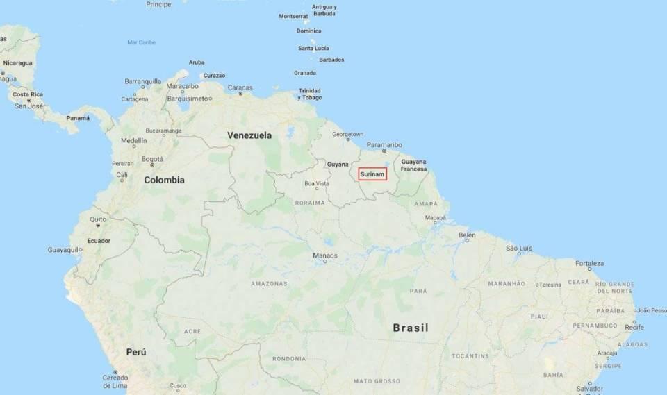 Surinam tiene una población total de 558 mil 368 habitantes, según el más reciente censo