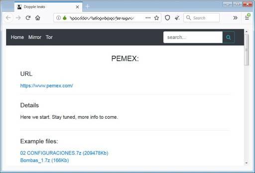 México PEMEX Hackers