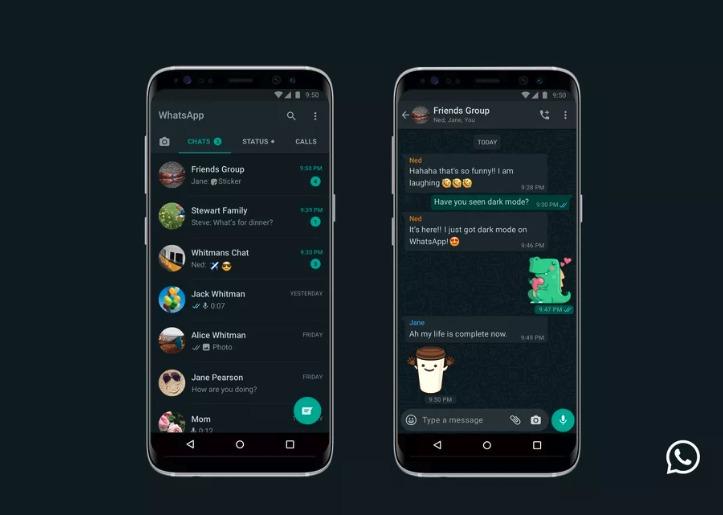 dark mode whatsapp ios
