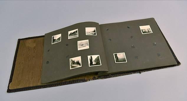 Álbum nazi: encuentran antiguo acumulador de fotos hecho con piel humana