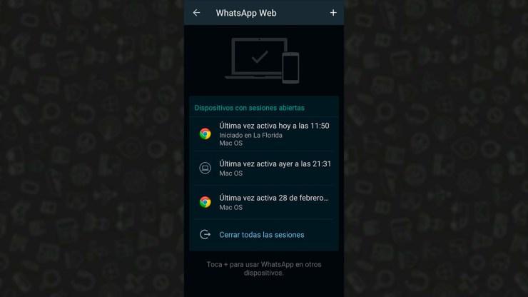 WhatsApp: ¿cómo saber si han abierto mi cuenta en otros dispositivos?