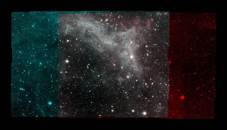 """NASA presenta la recién armada """"Nebulosa de California"""""""