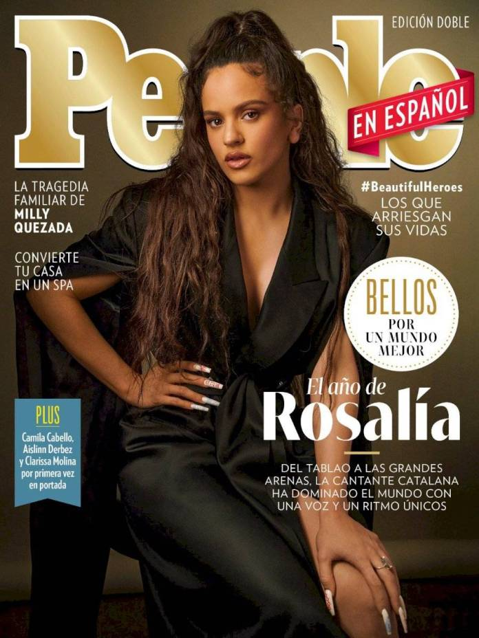 People magazine in Spanish: Aislinn Derbez and Danna Paola among the '50 most beautiful 2020'