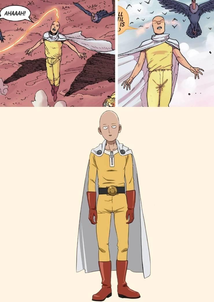 Marvel One-Punch Man Saitama