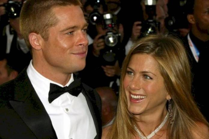 Brad Pitt and Jennifer Aniston were one of the couples favorite Hollywood
