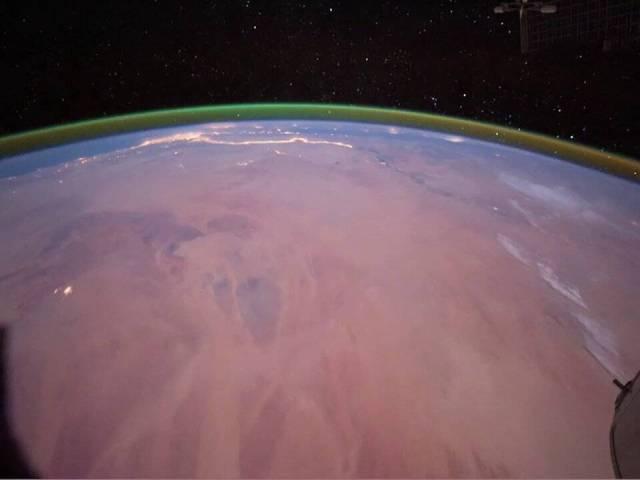 Brillo Verde sobre Marte