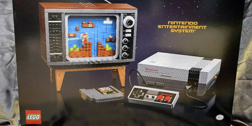 LEGO lanzará genial set de la NES con Super Mario Bros. y hasta una TV vieja