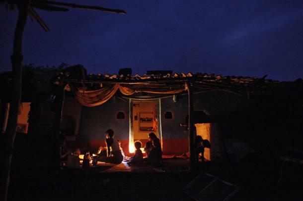 El apagón de la India en 2012.