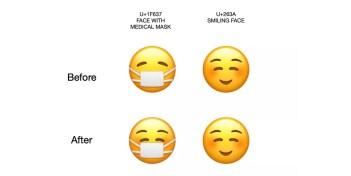 iPhone: Apple cambia el emoji de la mascarilla facial para volverlo alegre