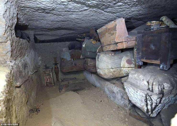 Tumbas del antiguo Egipto.