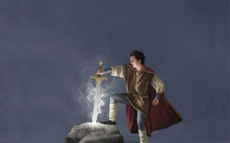 La leyenda del Rey Arturo y Excálibur.