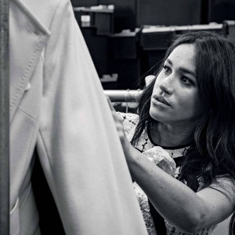 meghan markle vogue uk