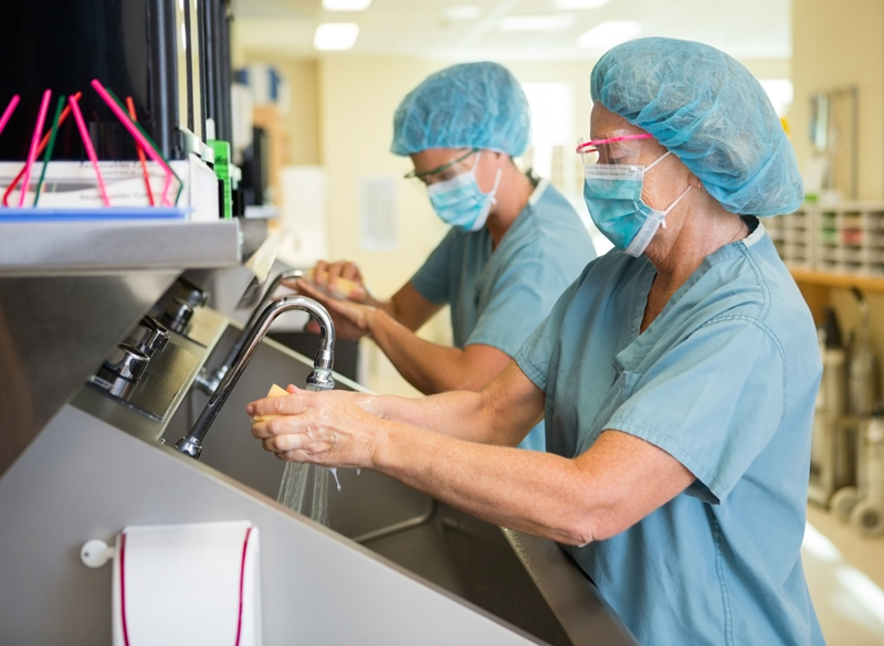 Cleanliness has become vital in surgery.