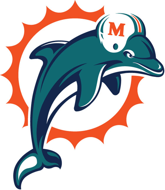 Image result for dolphins logo
