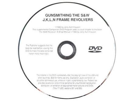 Gun Video Gunsmithing the S&W J K L N-Frame Revolvers by Jerry