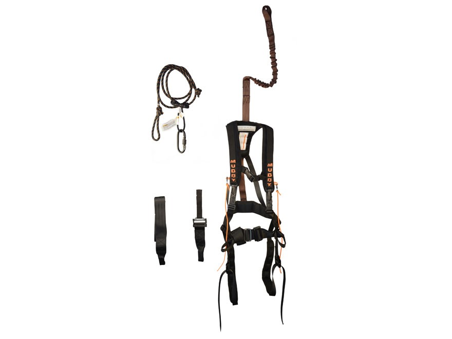 Muddy Outdoors Safeguard Treestand Safety Harness Nylon