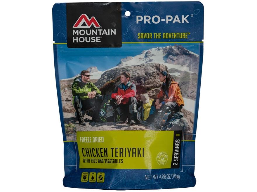 Mountain House Pro-Pak Vacuum-Sealed Chicken Teriyaki Rice