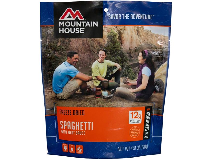 Mountain House Spaghetti Meat Sauce Freeze Dried Food 4.5oz