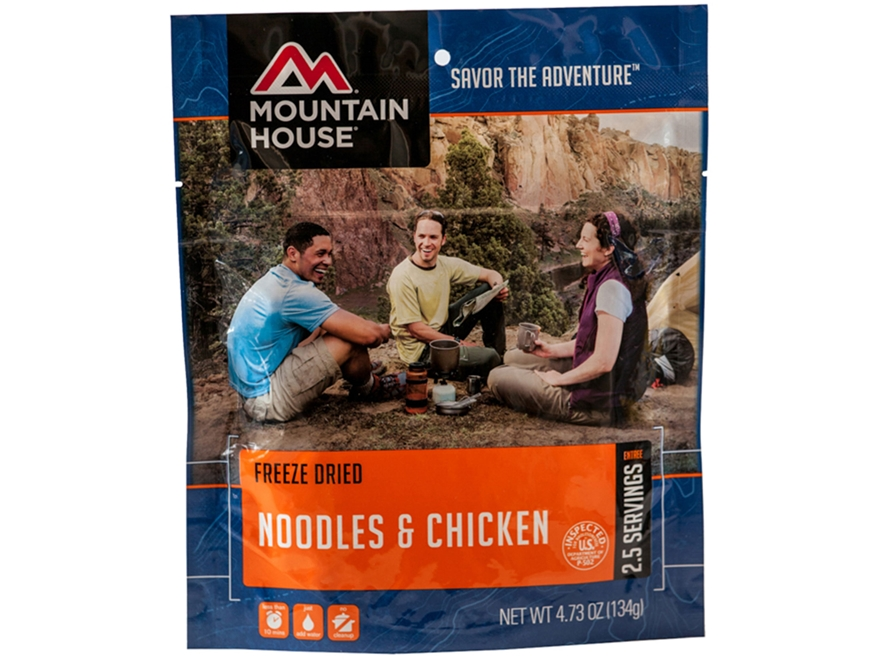 Mountain House Noodles Chicken Freeze Dried Food 4.7oz