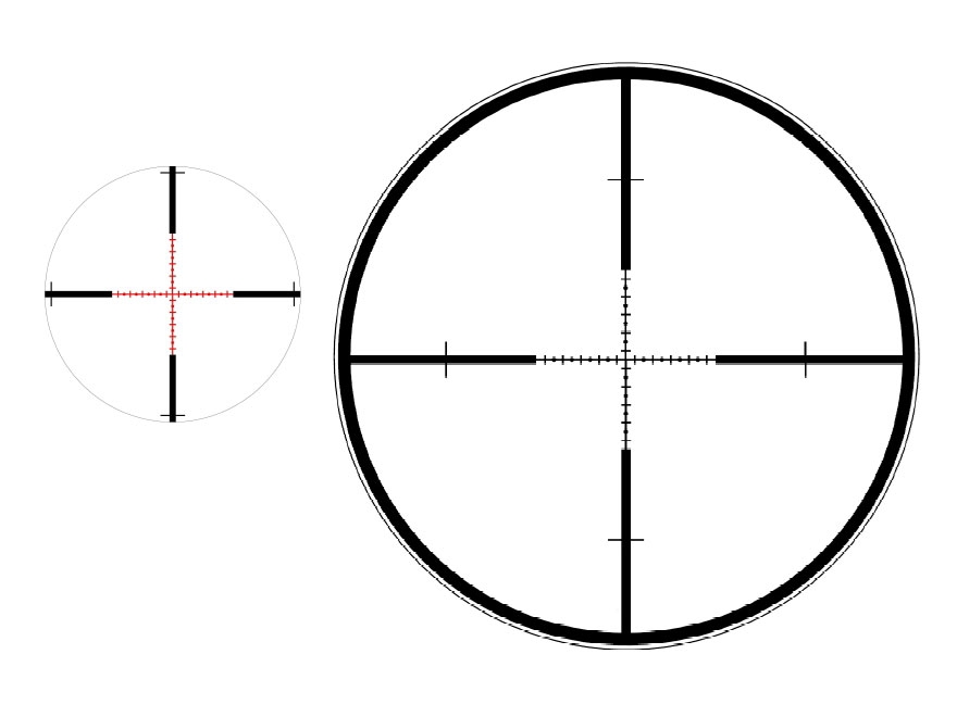 Steiner Military Tactical Rifle Scope 34mm Tube 5-25x 56mm