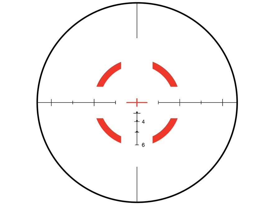 Trijicon VCOG Rifle Scope 1-6x 24mm First Focal