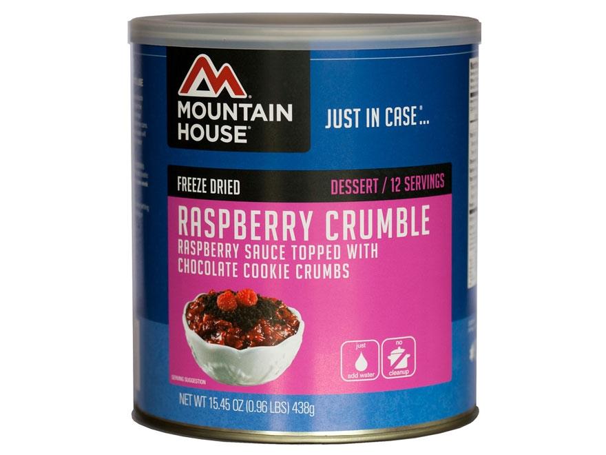Mountain House Raspberry Crumble Freeze Dried Food #10