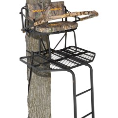Swivel Chair Tree Stand Teal Computer Ladder Urban Home Interior Muddy Outdoors The Prestige 16 Double Treestand