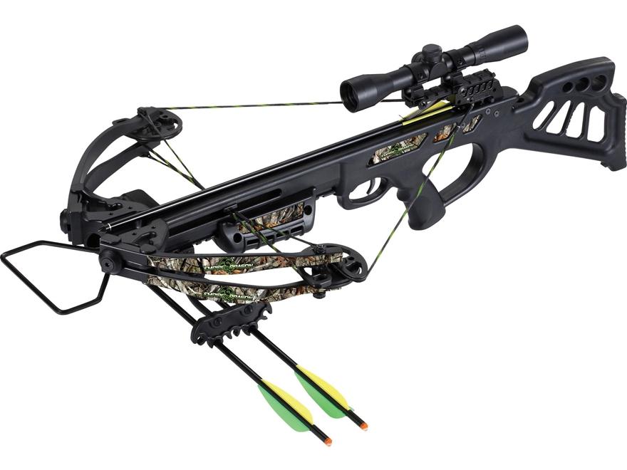 SA Sports Empire Dragon Crossbow Package 4x32 Multi-Range