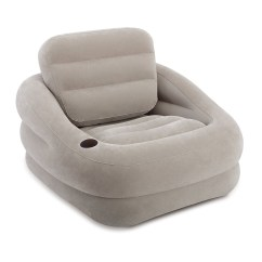 Intex Sofa Chair What Can I Use To Clean My Couch Lounge Sessel Luftbett Camping Gästebett