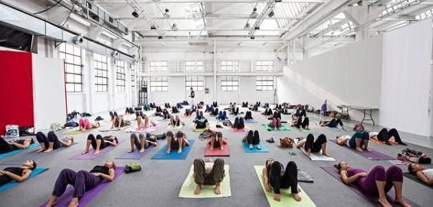 Master classes allo yogafestival di Milano