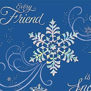Personalized Snowflake Christmas Cards Miles Kimball
