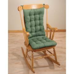 2 Pc Rocking Chair Cushions Papasan Cushion Rocker Pad Set Pads And