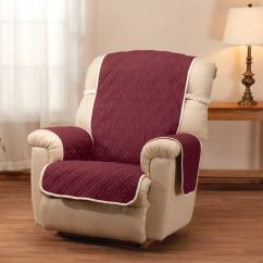 Waterproof Chair Covers For Recliners Wine Cork Deluxe Reversible Recliner Cover Miles
