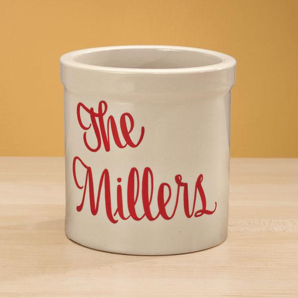 Personalized Stoneware Crock Stoneware Bakeware Miles
