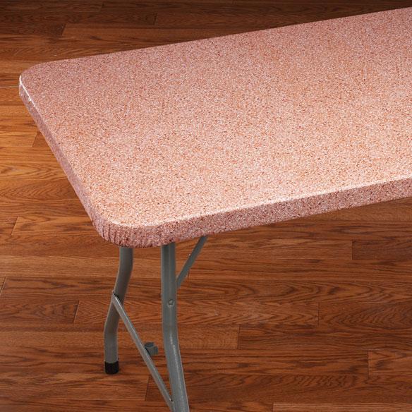 Granite Elasticized Banquet Table Cover Kitchen Miles