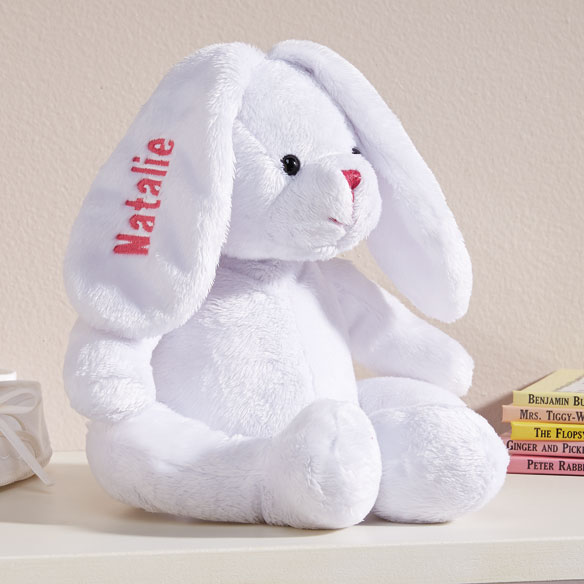 Personalized Plush Easter Bunny Plush Easter Bunny