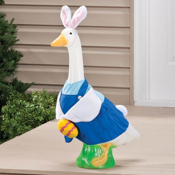 Easter Bunny Boy Goose Outfit Lawn Goose Goose Costume