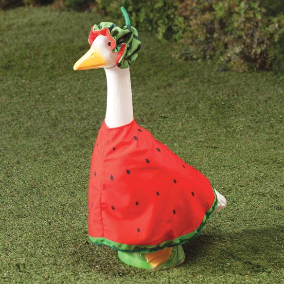 Watermelon Slice Goose Outfit Lawn Goose Goose Costume