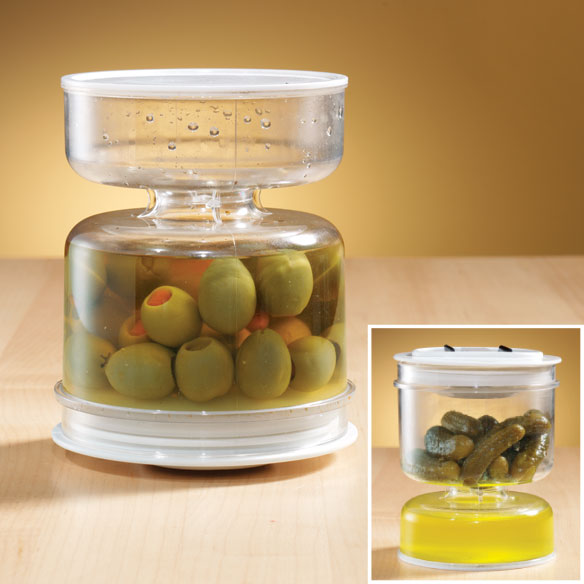 Pickle Jar Plastic Pickle Jar Kitchen Miles Kimball