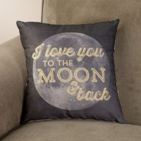 I Love You to the Moon and Back Pillow - Throw Pillow ...