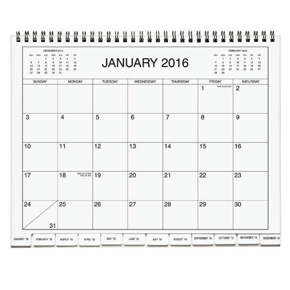5 Year Calendar Diary 2016 2020 Calendars Miles Kimball
