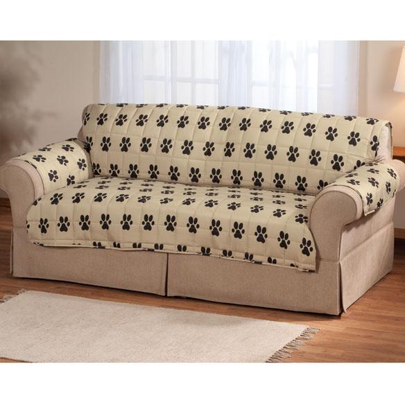 Paw Print Sofa Protector