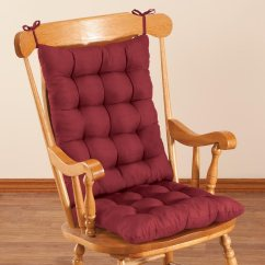Large Rocking Chair Cushion Sets Wheelchair Lifts For Homes Microfiber Set By Oakridgetm Ebay