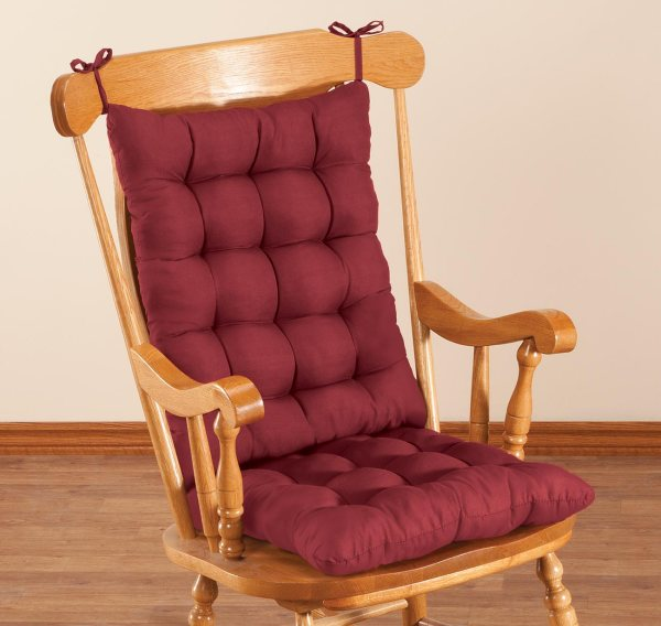Microfiber Rocking Chair Cushion Set Oakridgetm