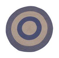 Multi-Color Non-Slip Braided Round Rug by OakRidgeTM   eBay