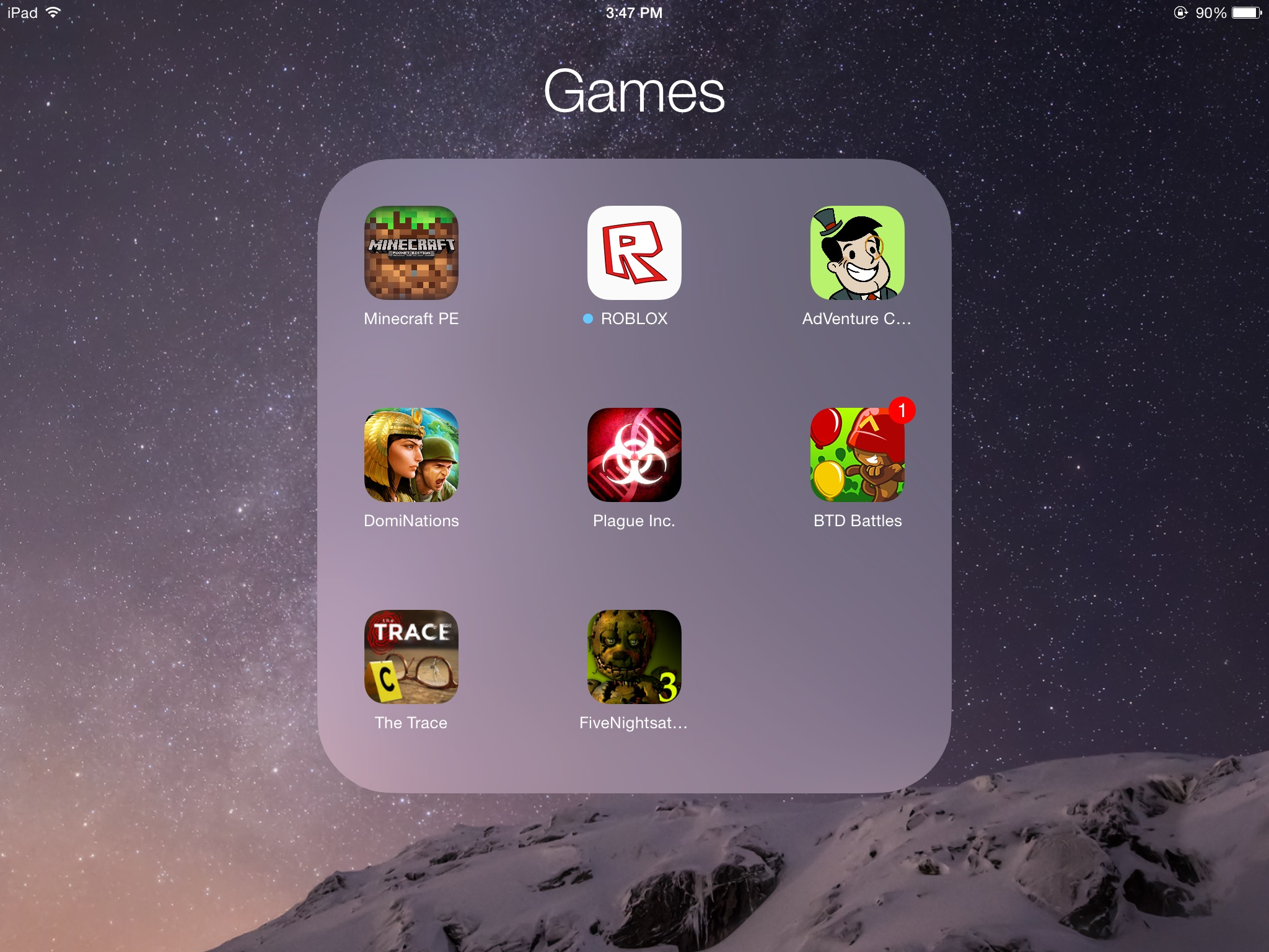 any games for ipad