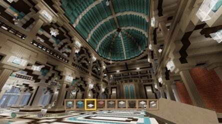 minecraft castle chandelier fantasy mega build creative epic mode ajp